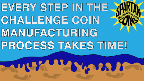 custom challenge coin manufacturing steps